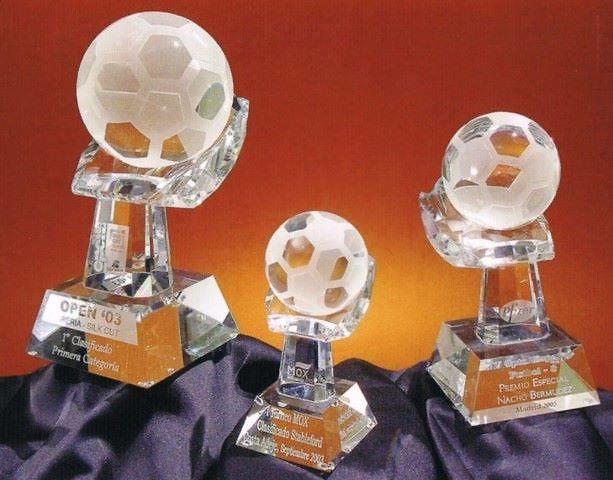 Trofeo Atwot Roca Futbol Cristal