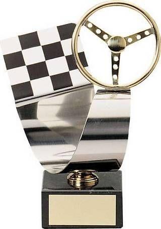 Trofeo Automovilismo Acero y Latón
