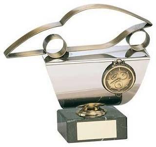 Trofeo Automovilismo Coche y Cronometro