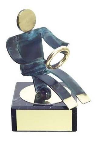 Trofeo Automovilismo Conductor Latón