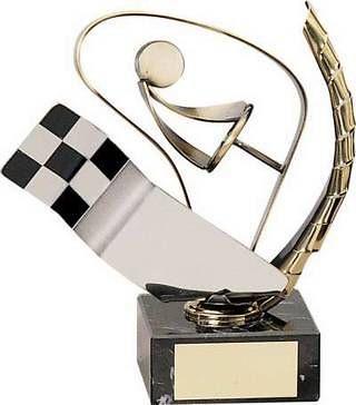 Trofeo Automovilismo Conductor y Bandera