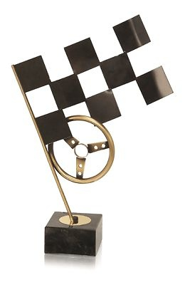 Trofeo Automovilismo Volante Dorado