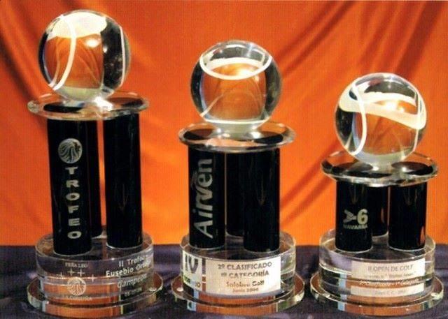 Trofeo Bakota Columnas Negras Tenis