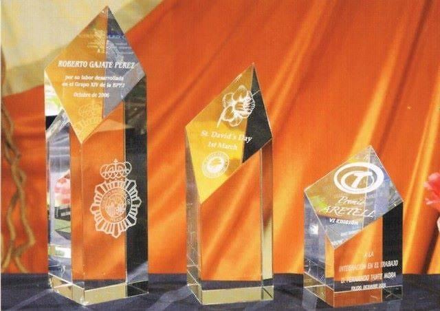 Trofeo Banyarwandans Rombo Acrecentado