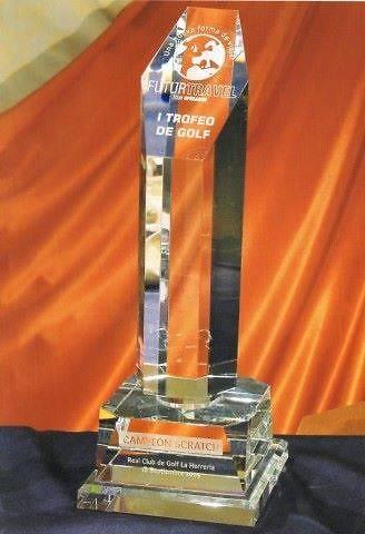 Trofeo Bapedi Peana Torre Cristal