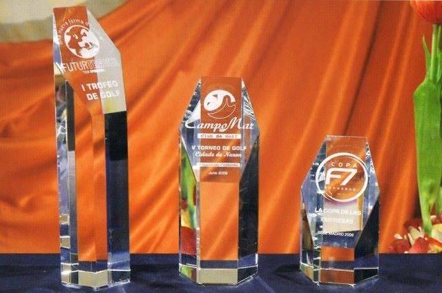 Trofeo Bara Acrecentado Pentagonal