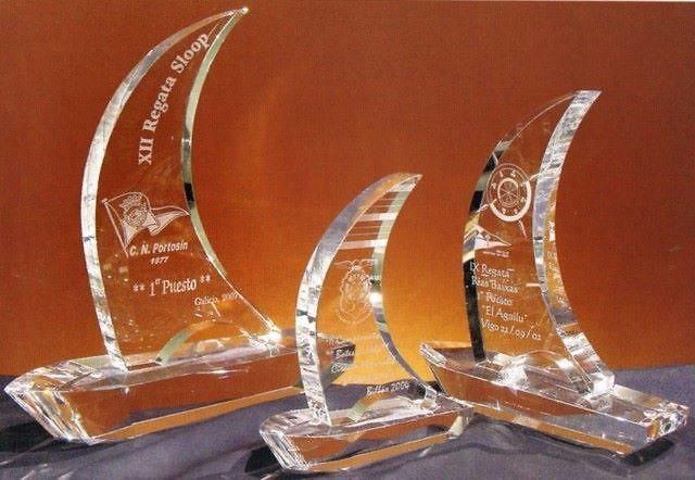 Trofeo Basketto Velero Cristal