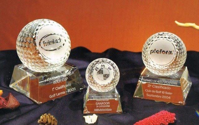 Trofeo Beduino Peana Trapecio Cristal