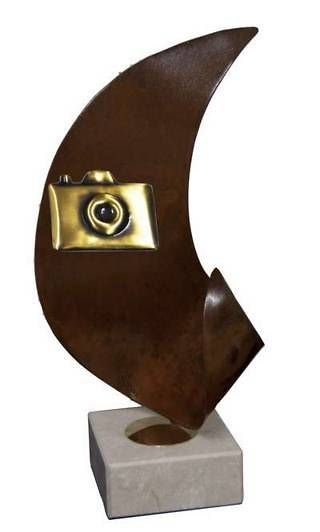 Trofeo Artesanal Laton Fotografia