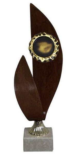 Trofeo Artesanal Laton Alegoricos