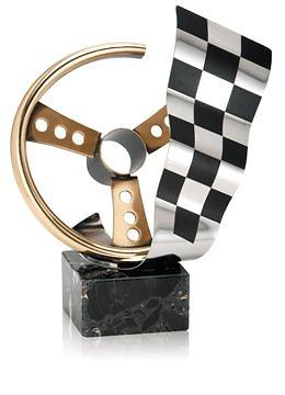 Trofeo Cuarzo Volante en Latón