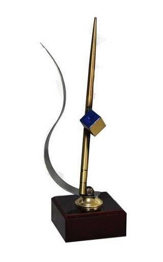 Trofeo Artesanal Laton Billar