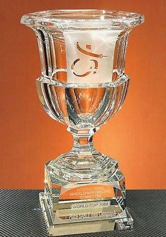 Trofeo Dagaaba Copa Cristal Transparente