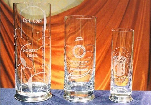 Trofeo Dagomba Vaso Florero Cristal