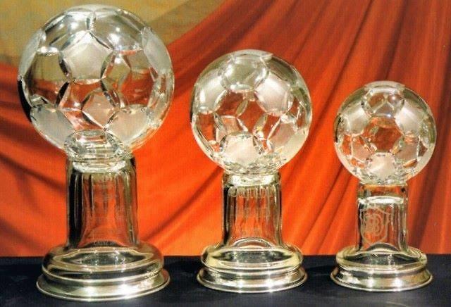 Trofeo Dauro Balón Futbol Cristal Matizado