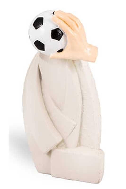 Trofeo Escultura blanco efecto yeso modelo Axapusco