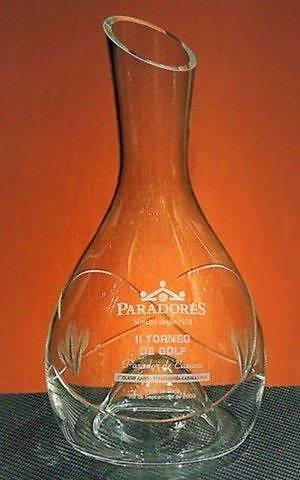 Trofeo Fefe Decantador Cristal Ramillete