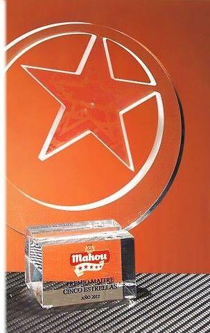 Trofeo Gedeo Estrella Recortado