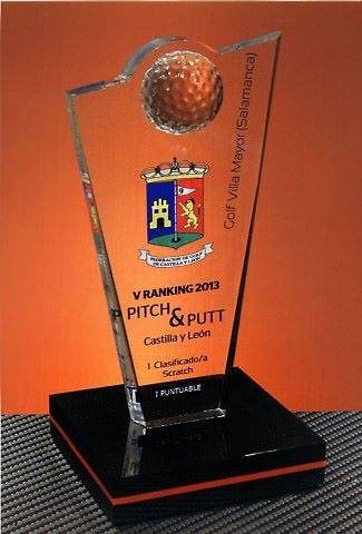 Trofeo Gemjek Golf Metacrilato