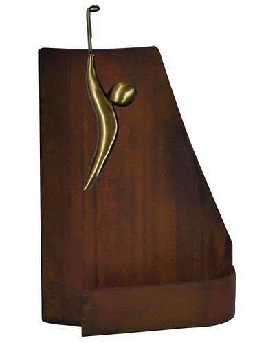 Trofeo Artesanal Laton Golf