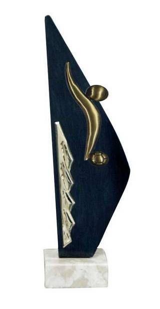 Trofeo Artesanal Laton Futbol