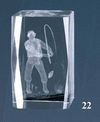 Trofeo Lozoya Cubo de Cristal Pesca