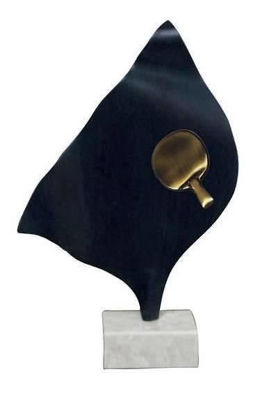 Trofeo Artesanal Laton Ping Pong