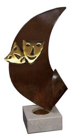 Trofeo Artesanal Laton Teatro