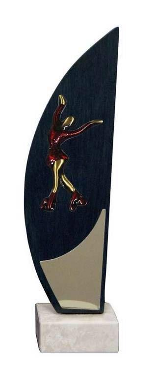 Trofeo Artesanal Laton Patinaje