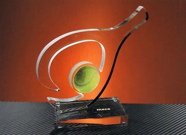 Trofeo Metacrilato Gonja Padel Pala Recortada