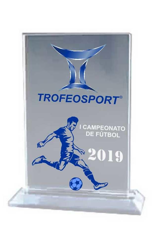 Trofeo Rectangular Vertical