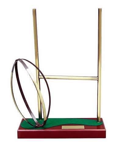 Trofeo Rugby portería y pelota