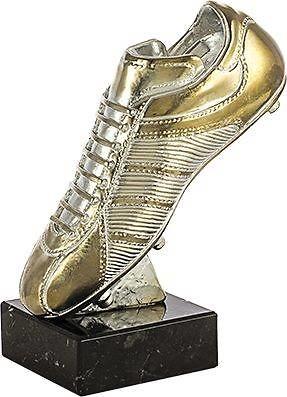 trofeo bota futbol plata