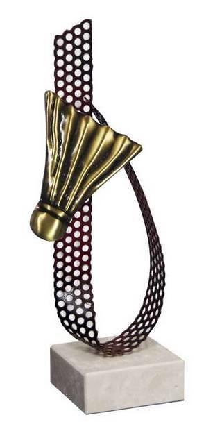 Trofeo Artesanal Laton Badminton
