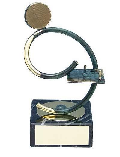 Trofeo ajedrez artesanal