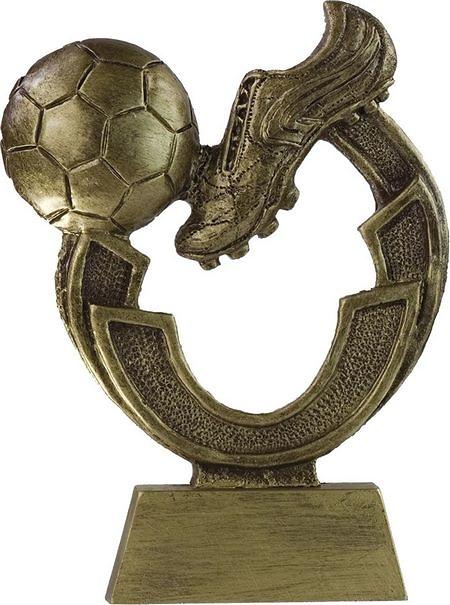 Trofeo arco de futbol