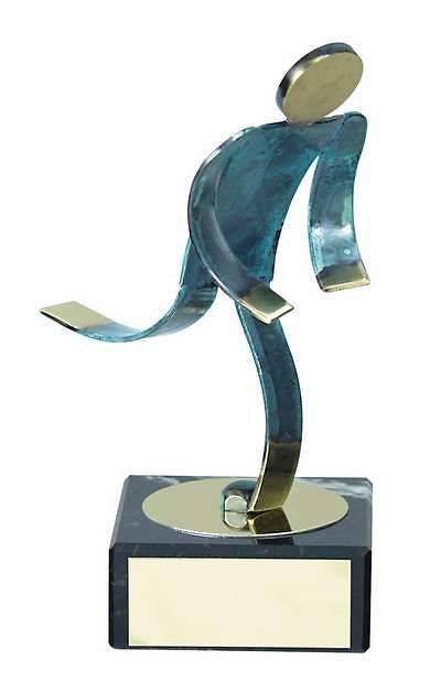 Trofeo atletismo atleta