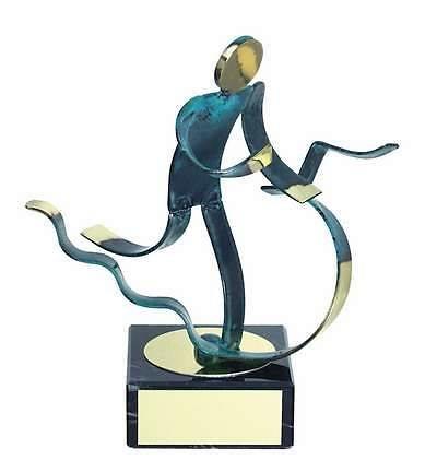 Trofeo atletismo triatlón latón