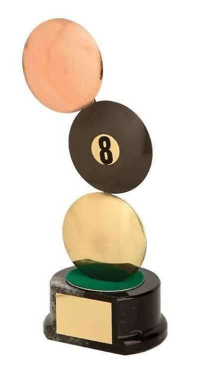 Trofeo billar americano bolas