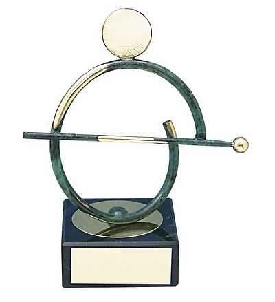 Trofeo billar jugador