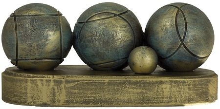 Trofeo bolas de petanca