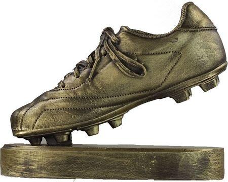 Trofeo bota de futbol mate