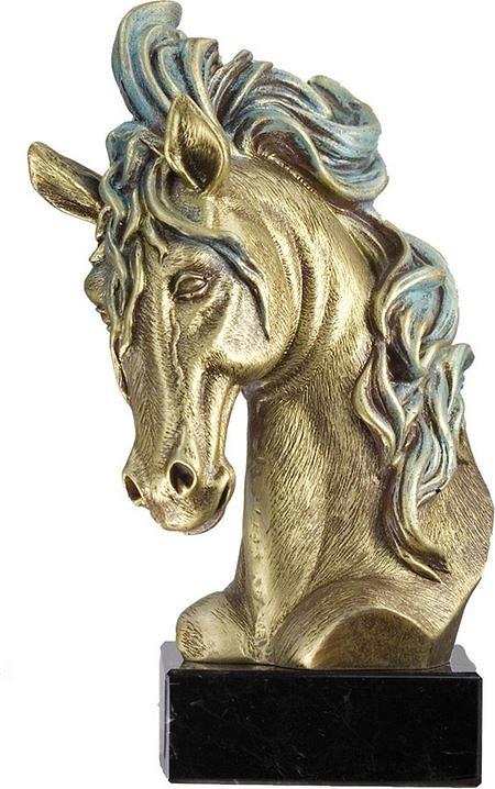 Trofeo busto de caballo
