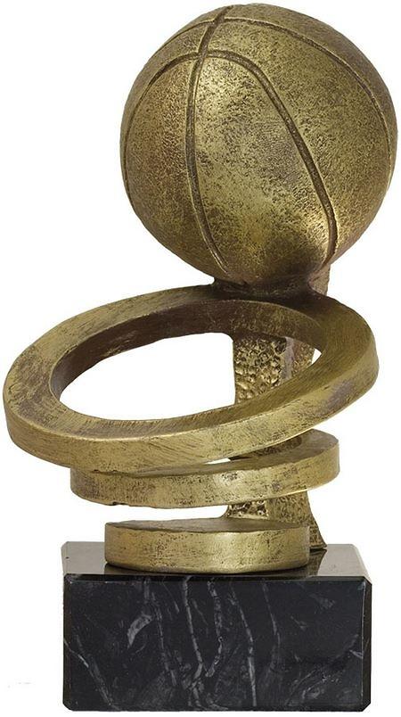 Trofeo canasta de baloncesto