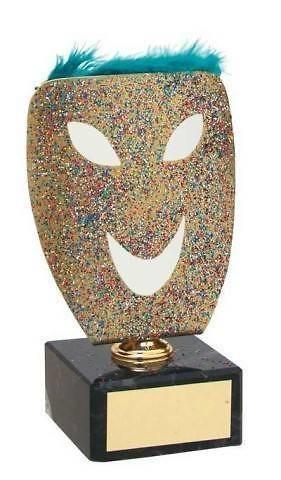 Trofeo carnaval mascara