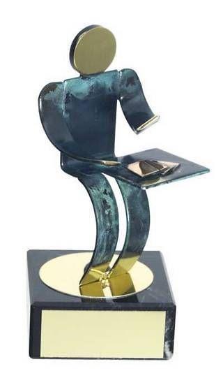 Trofeo cartas artesanal
