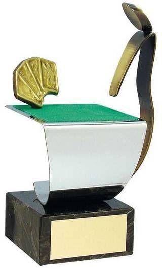 Trofeo cartas jugador y tapete
