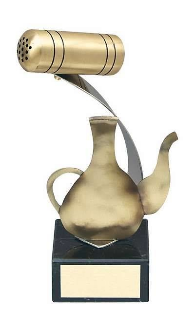 Trofeo cocina aceitera y salero