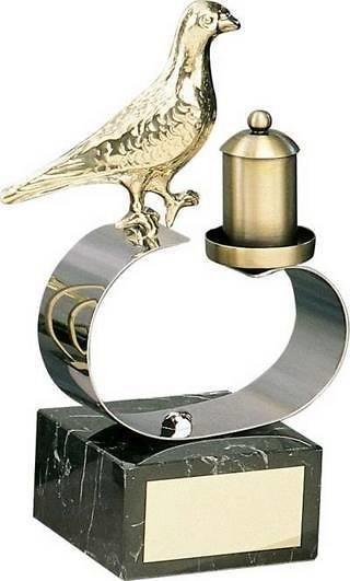Trofeo colombofilia paloma dorad
