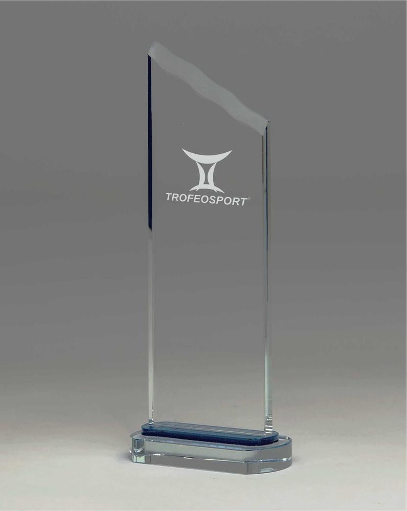 Trofeo con forma de Icono rectangular lapidado